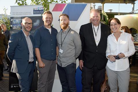 Kevin McGurgan, Ben Roberts, Tristan Goligher, Adrian Wootton, Briony Hanson